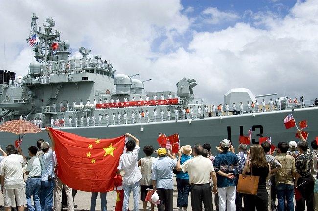 القوات البحرية التابعة لجيش التحرير الشعبي - الصين