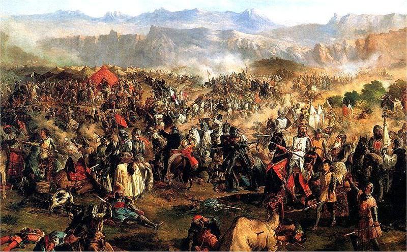 معركة وادي لكة - 8:1