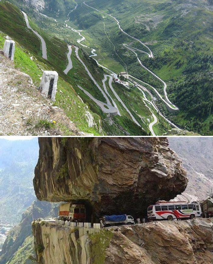 طريق «يونجاس» الشمالي في بوليفيا، احد اخطر الطرق في العالم