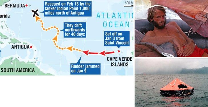 «ستيفن كالاهان» - 76 يوماً في عرض البحر
