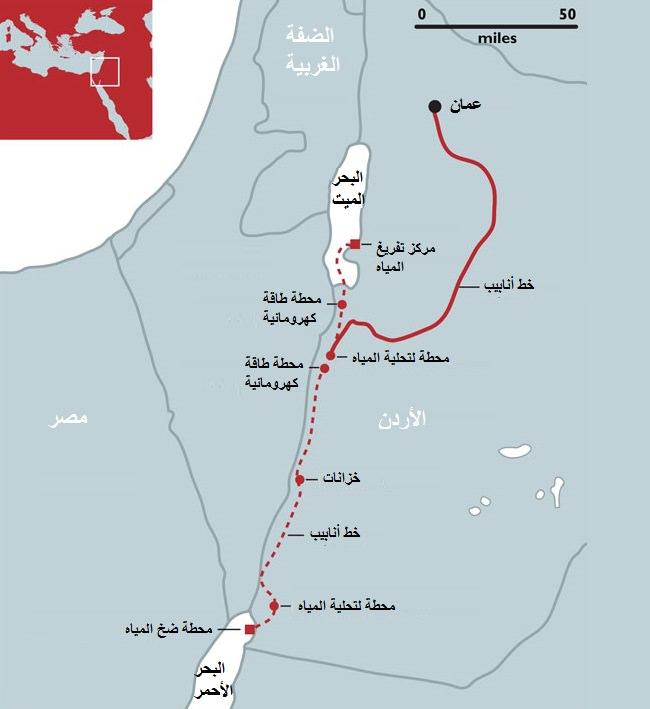 قناة البحر الميت