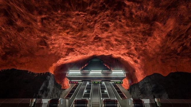 محطة مترو سولنا سنتروم - ستوكهولم