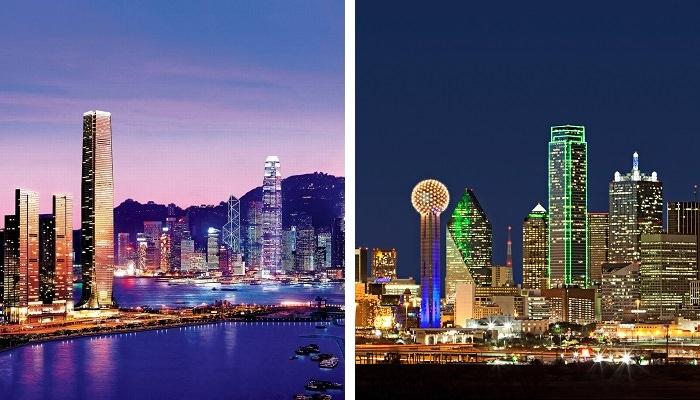 دالاس – هونج كونج على متن «أميريكان ايرلاينز» - المُدة 16:50