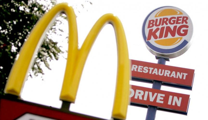 McDonalds مقابل Burger King
