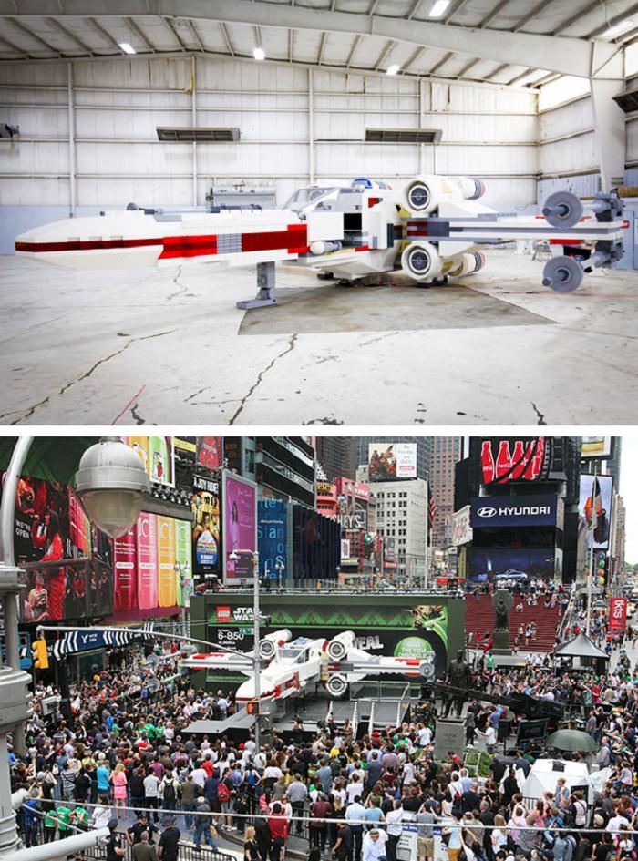 مركبة X-Wing من أفلام حرب النجوم (Star Wars)