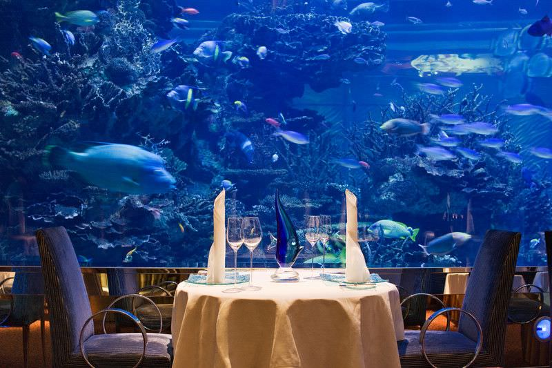 المطاعم في اتلانتس دبي
