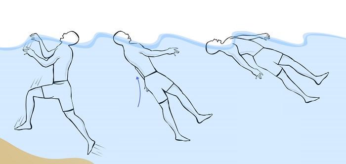 عملية الغرق أثناء التمثيل لا تمت للواقع بصلة