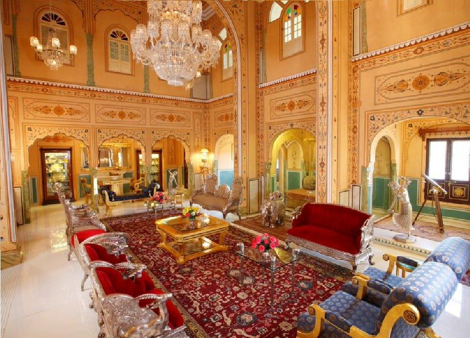 جناح  مهراجا بافيليون في فندق راج بالاس  بالهند