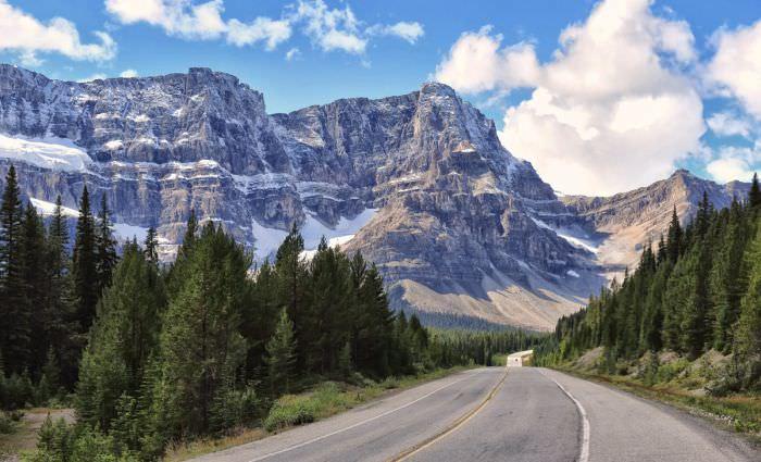 طريق الحقول الجليدية - كندا