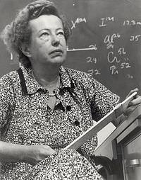 ماريا ماير: نوبل في الفيزياء