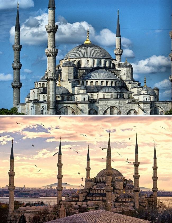 مسجد السلطان احمد (اسطنبول - تركيا)