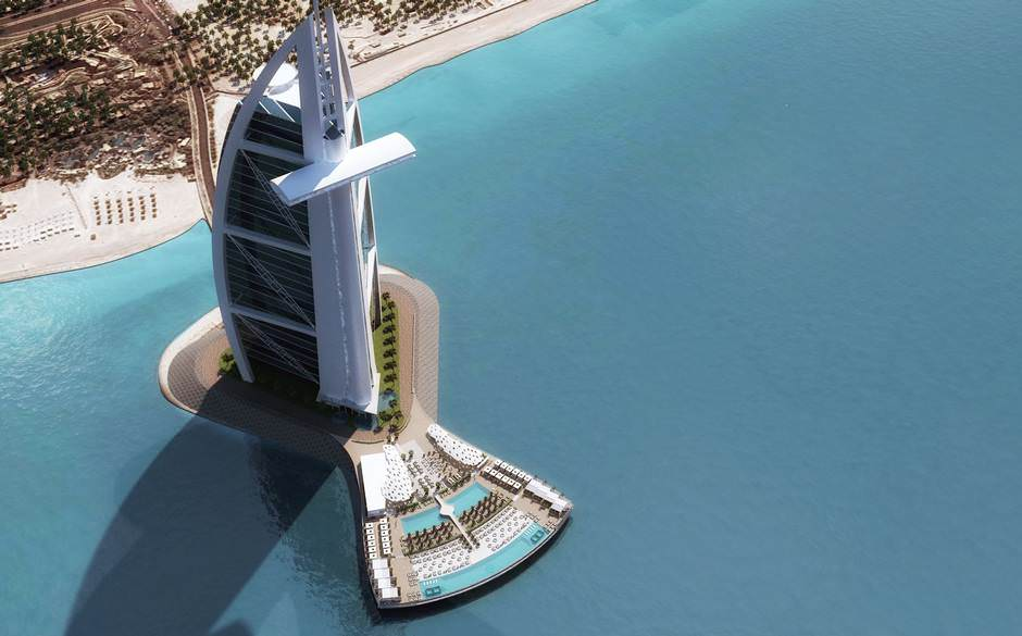 جزيرة برج العرب