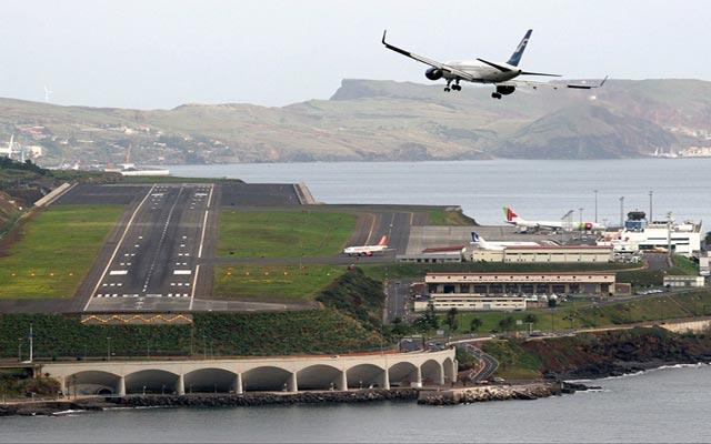 مطار ماديرا في البرتغال