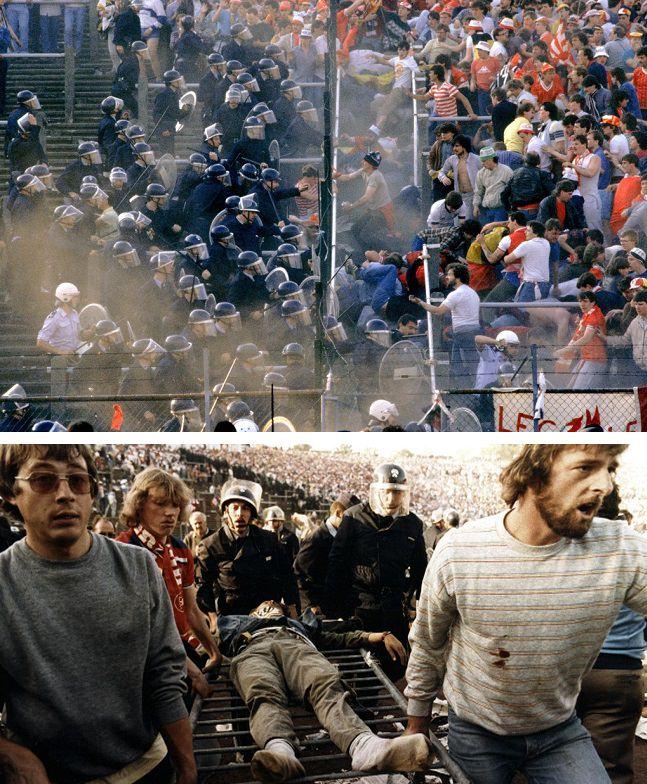 مباراة ليفربول ويوفينتوس سنة 1985 - مقتل 71 شخصاً