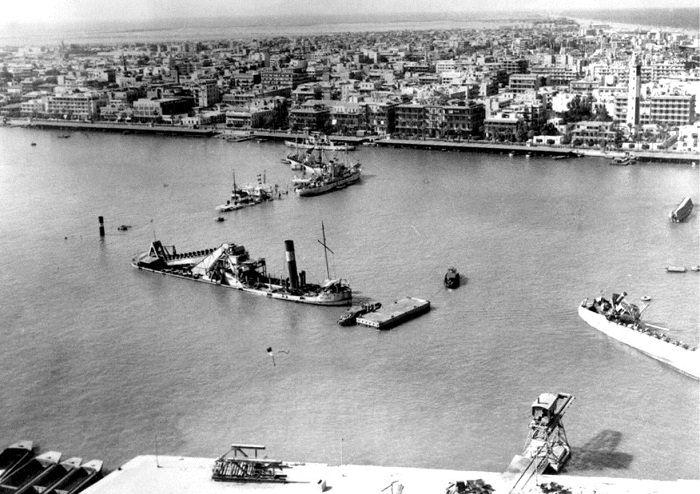 تسببت القناة بحرب أكتوبر من عام 1956
