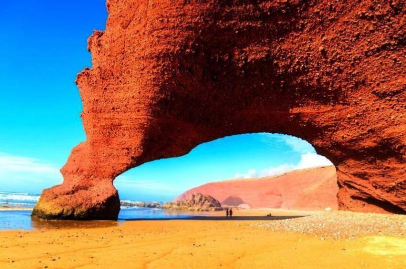 شاطئ الجزيرة ، سيدي إفني