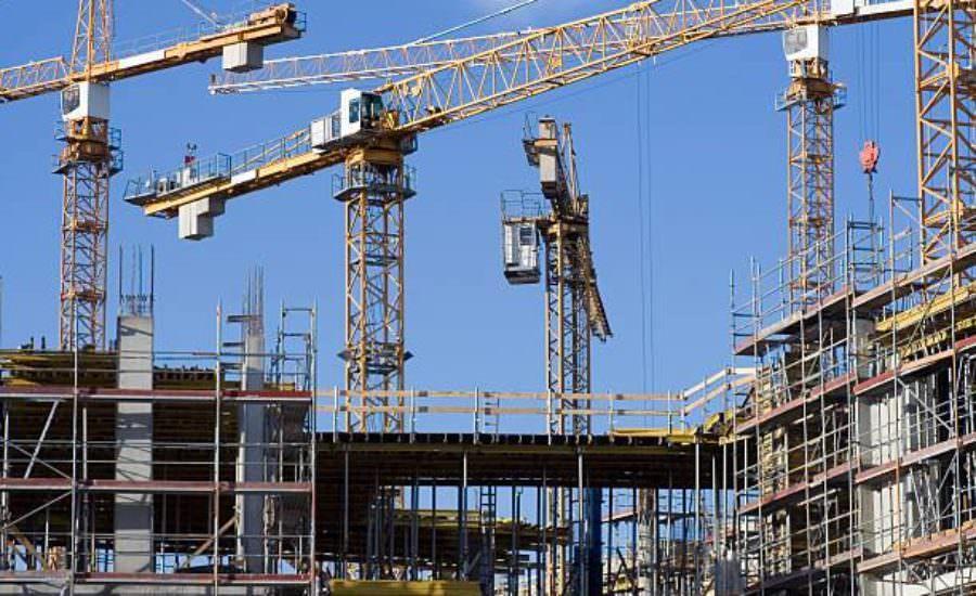 أعمال التشييد والبناء