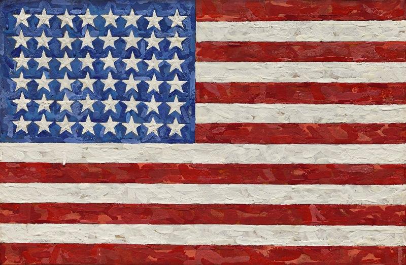 لوحة Flag - ثمنها 110 مليون دولار