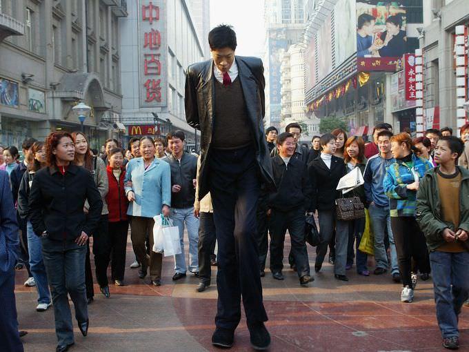 تشانغ جانكاي - 242 سنتمتر