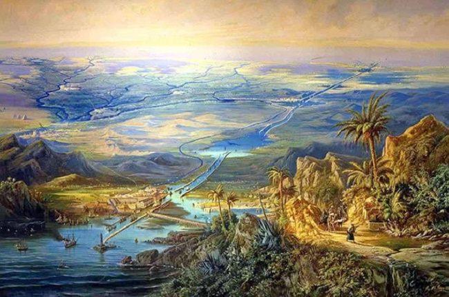 الفراعنة هم أول من شقّ القناة المائية