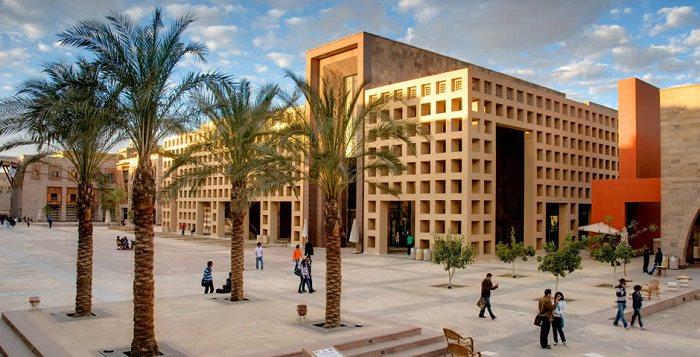 الجامعة الأمريكية بالقاهرة «AUC» في مصر - تأسست في عام 1919