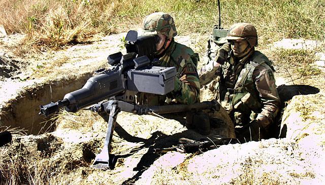 المدفع الرشاش الثقيل المتطور XM307 ACSW