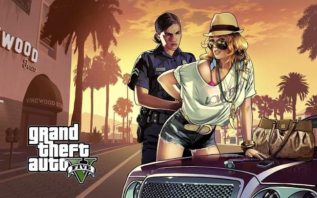 Grand Theft Auto V السرقات الكبرى للسيارات - 265 مليون دولار