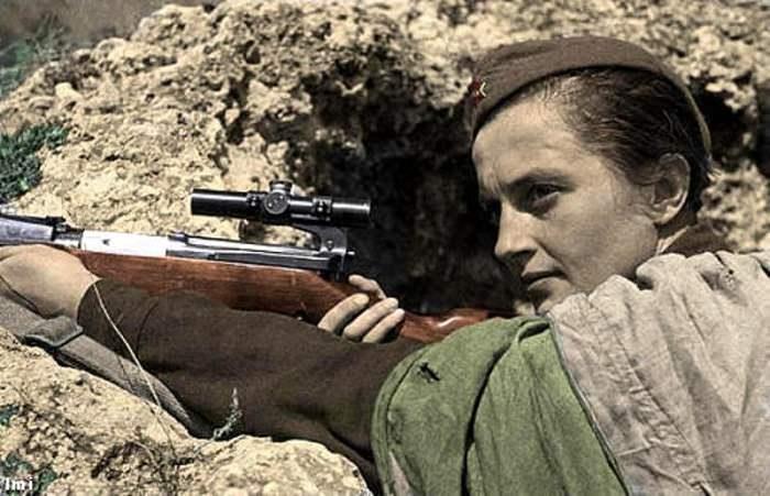 لودميلا بافيلتشينكو - 309 إصابة قاتلة ومؤكدة