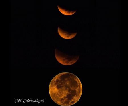خسوف القمر العملاق