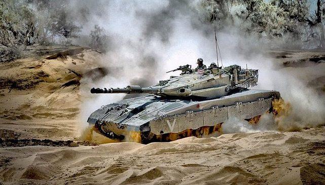 ميركافا 4 - الإحتلال الإسرائيلي