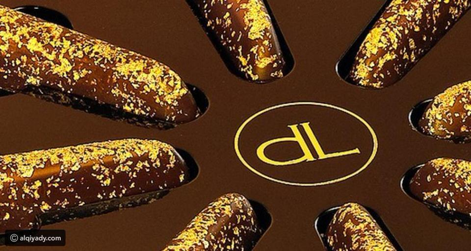 الشوكولاته المزيّنة بالذهب من شركة ديلافي بتكلفة 508 دولارات