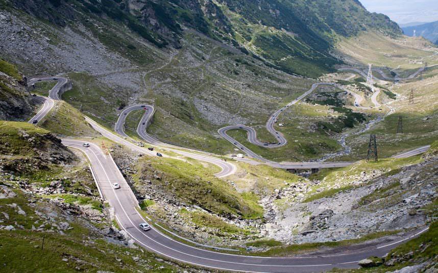 طريق «ترانسفاغاراسان» - رومانيا