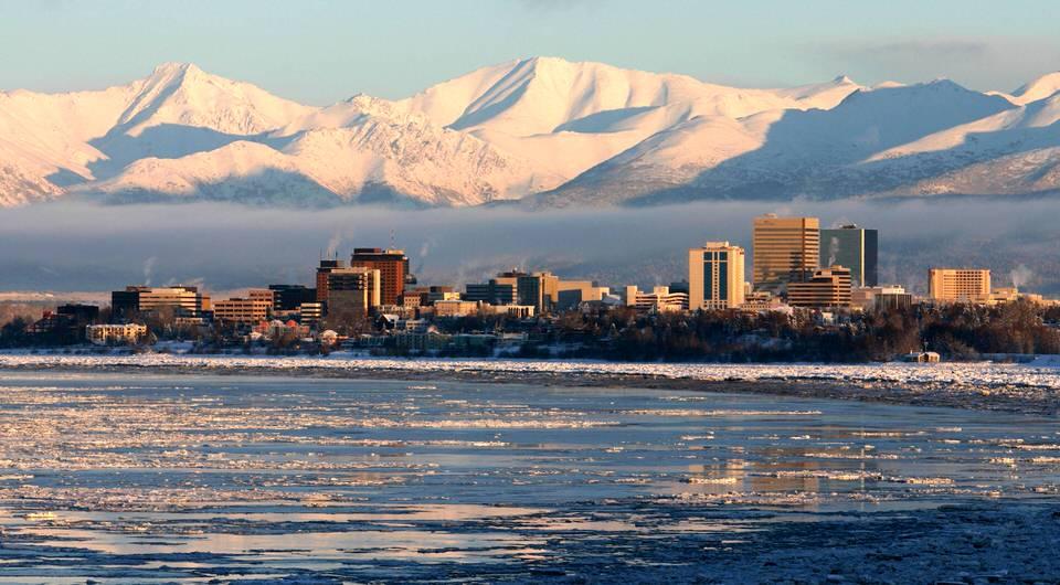 حقل المنحدر الشمالي في ألاسكا