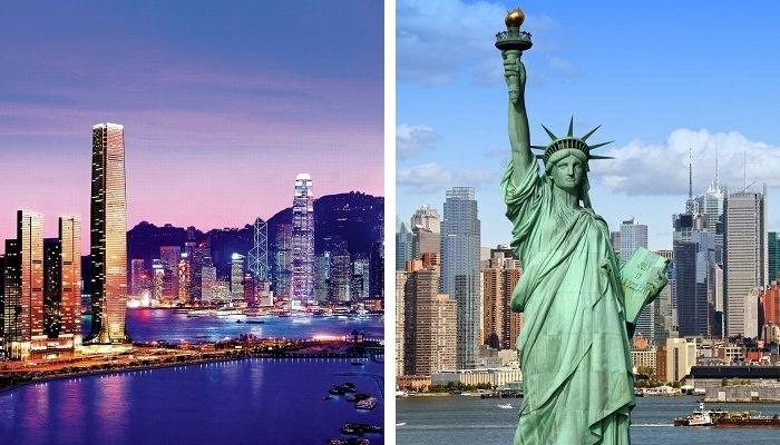 نيويورك – هونج كونج على متن خطوط «كاثي باسيفيك» -  المُدة 15:55