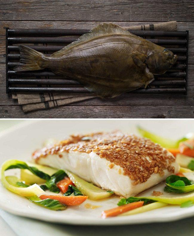 سمك الهلبوت - نسبة البروتينات 21.2%