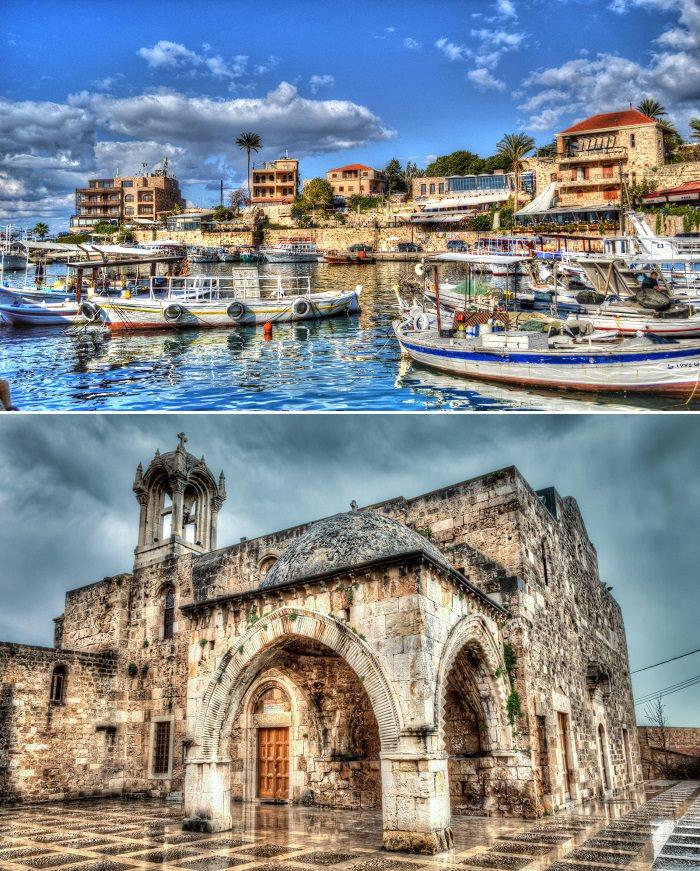 جبيل، لبنان - تأسست قبل 7 آلاف عام