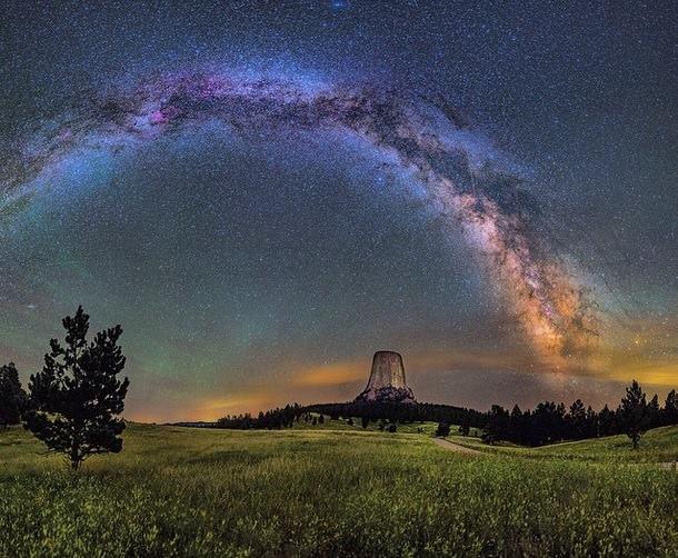 برج الشيطان للمصور David Lane