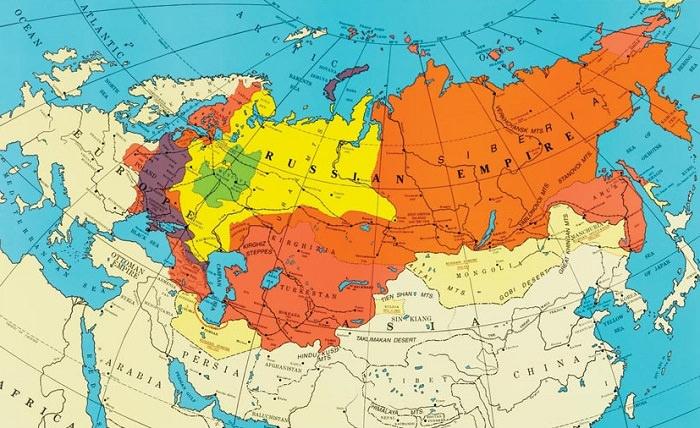 الإمبراطورية الروسية - من 1721 إلى 1917 م