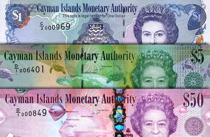 دولار جزر الكايمان - يعادل 1.22 دولار أمريكي
