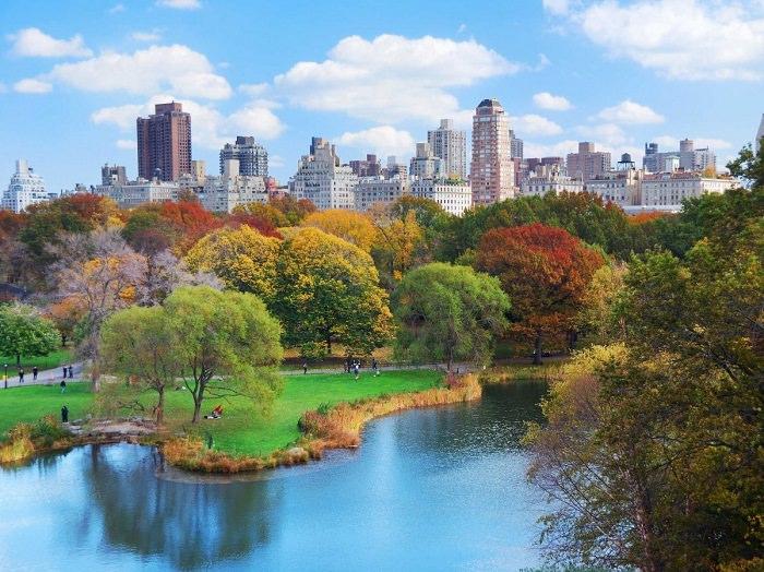 نيويورك، الولايات المتحدة الأمريكية - 12.27 مليون سائح