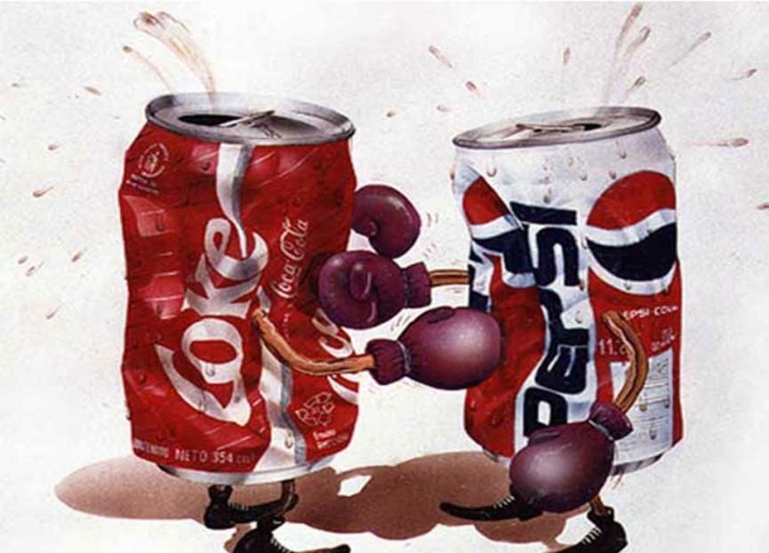 Coke مقابل Pepsi