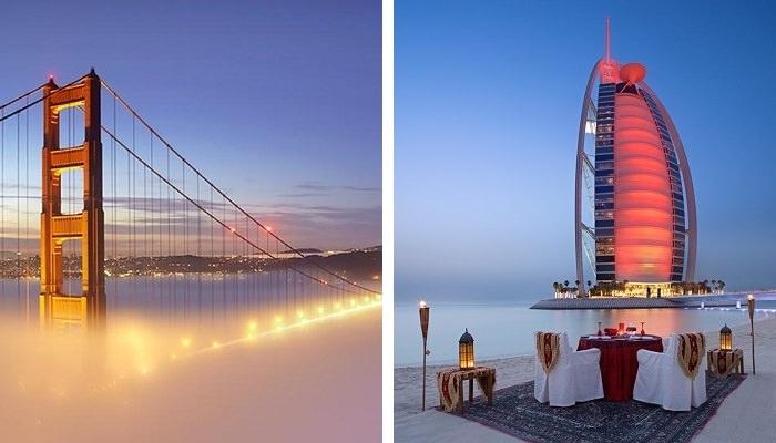 دبي – سان فرانسيسكو على متن طيران الإمارات -  المُدة 15:50