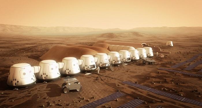 تصميم المستعمرة على سطح المريخ