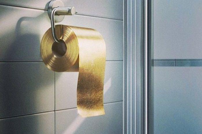 أوراق الحمام الذهبية