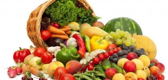 الفواكه والخضروات غير المغسولة