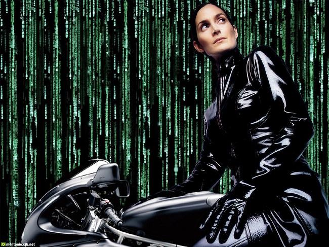 كاري آن موس عن دورها في The Matrix