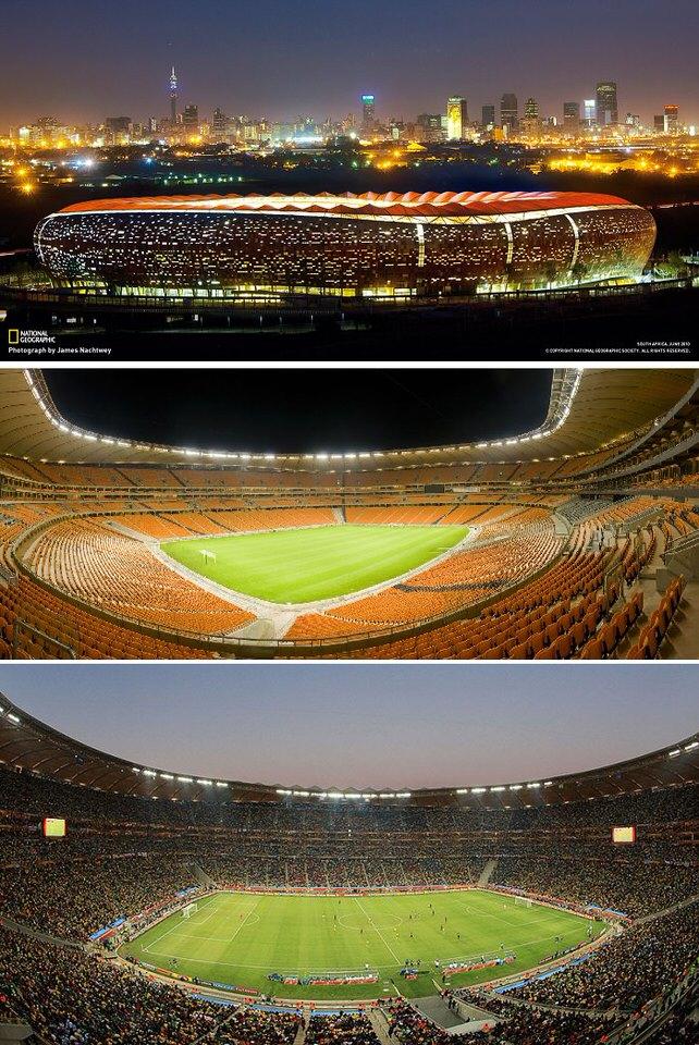 سوكر سيتي، جنوب أفريقيا - 94 ألف متفرج