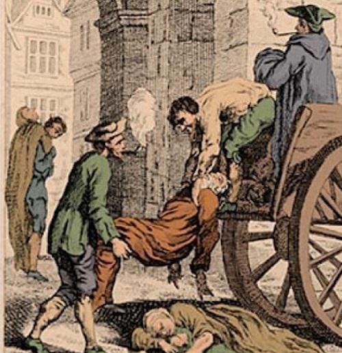 طاعون سنة 1295 م - عدد الوفيات 127 ألف
