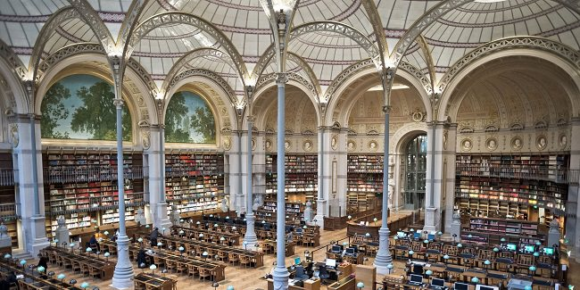 المكتبة الوطنية الفرنسية - 40 مليون كتاب