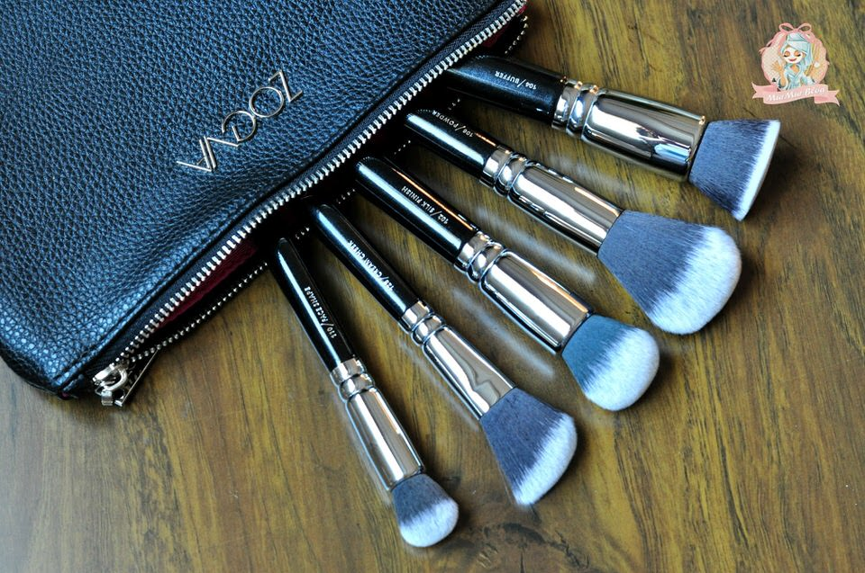 مجموعة فرش ZOEVA SILK FINISH BRUSH